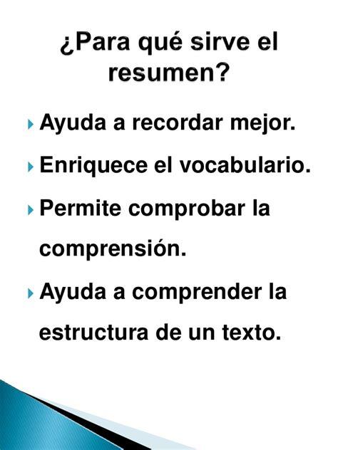 Resumen Y Abstract by Resumen O Sintesis