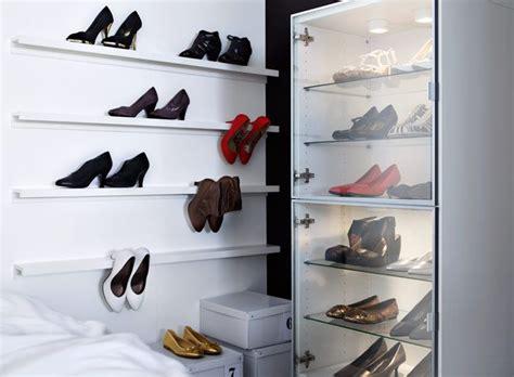 ikea ledge shelf ribba picture ledge as shoe rack dream wardrobe