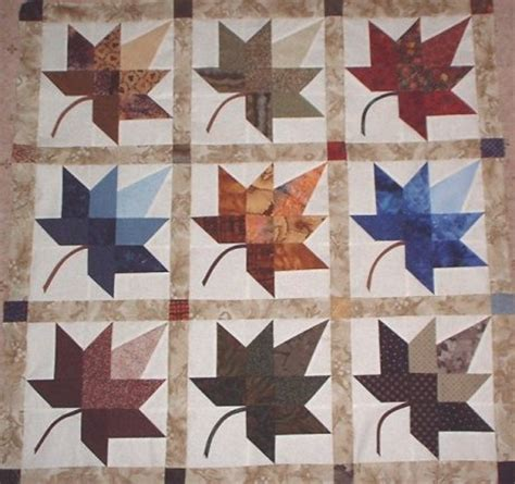 Free Fall Quilt Patterns by Autumn Leaf Pattern Quilt Pattern Free Patterns