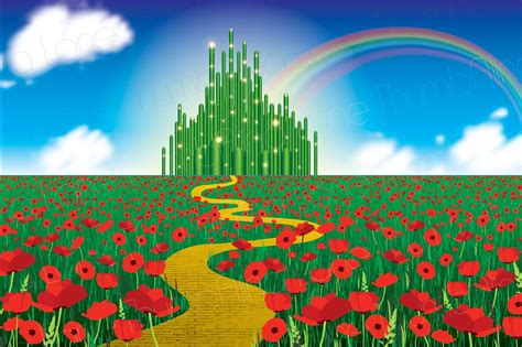 wizard of oz background printable wizard of oz backdrop instant 6ft x