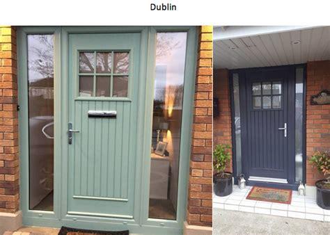 top  front door styles composite doors