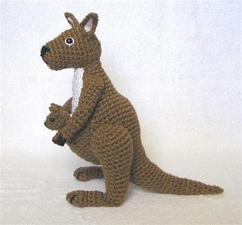 amigurumi kangaroo pattern 100 best images about crochet kangaroos and koalas on