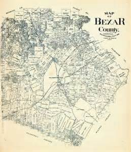 bexar county map historic map going for 8 000 san antonio express news