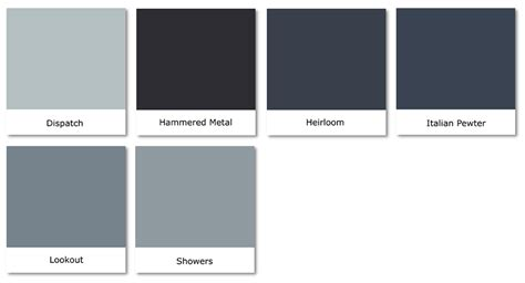 blue gray color gray blue color swatch