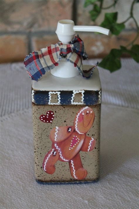 gingerbread lotion dispenser gingerbread decor home