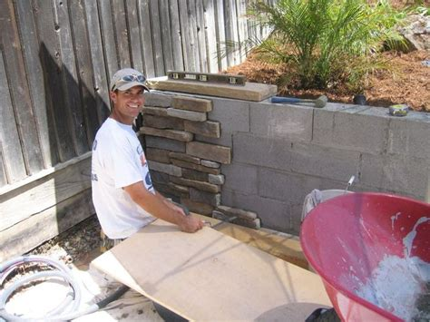 backyard from scratch cover the retaining wall little blue house pinterest retaining