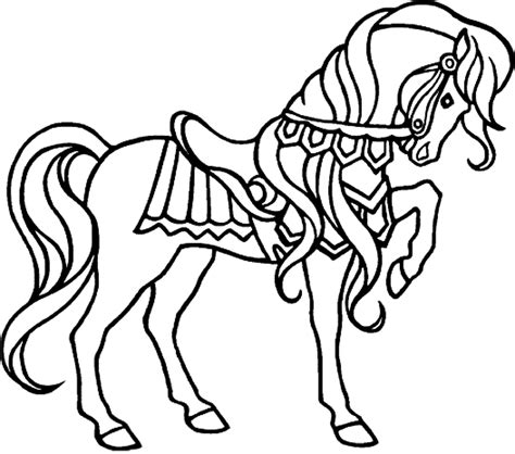 horse coloring pages for girls printable kids colouring