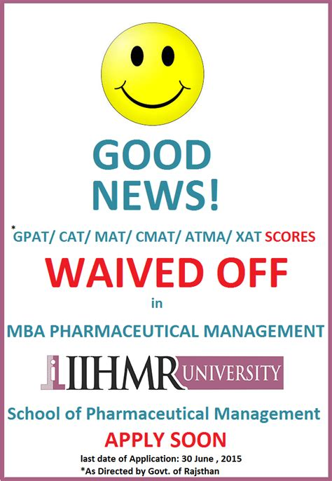 Cat For Mba In Hospital Management by Iihmr A Premier Healthcare India