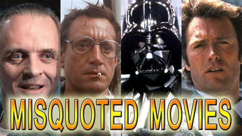movie quotes misquoted 10 classic movie lines that are famously misquoted 100 5
