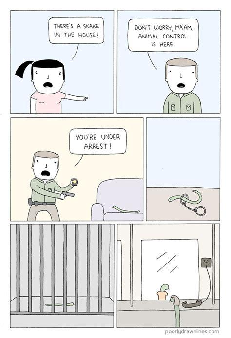 libro poorly drawn lines good 25 funny animal comics show their human like problems bored panda