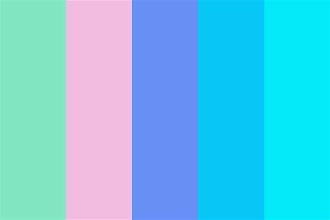 cool color palettes 80s cool color palette