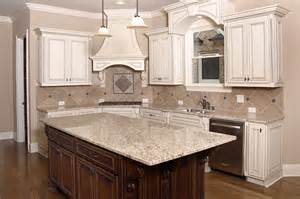 Kitchens With Stone Backsplash Kitchen Countertops Mckenna S Kitchen Store Rochester Ny