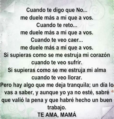 imagenes y palabras para hijos 17 best images about frases para mama on pinterest