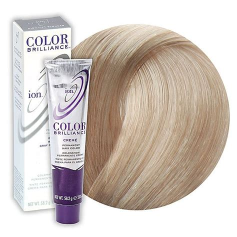 ion haircolor pucs ion color brilliance permanent creme hair dark brown hairs
