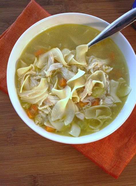 how to make chicken noodle soup ii glorious soup recipes