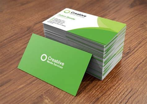 creative business card templates psd 25 fresh and free business card templates ginva