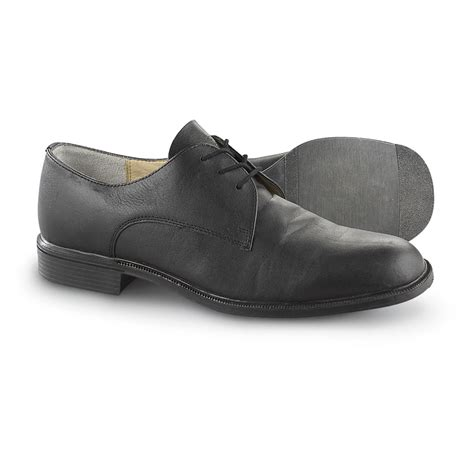 german shoes new german leather officer s shoes black