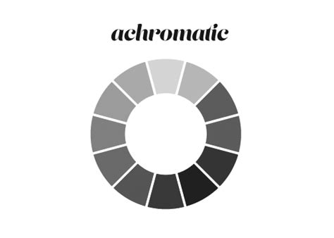 achromatic colors achromatic color achromatic color scheme color