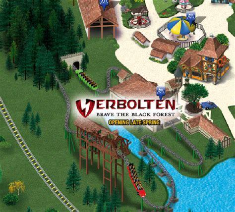 Season Pass Busch Gardens by Verbolten Appears On The Busch Gardens Williamsburg Map