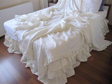 white shabby chic bedding white gathered king duvet cover