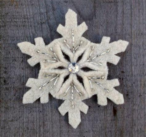 patterns for snowflake wool felt snowflake pattern pdf file snowflakes crafts and wool