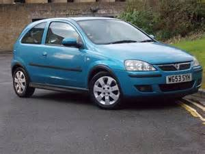 Blue Vauxhall Corsa Used Vauxhall Corsa 2004 Manual Petrol 1 2i 16v Sxi 3 Door