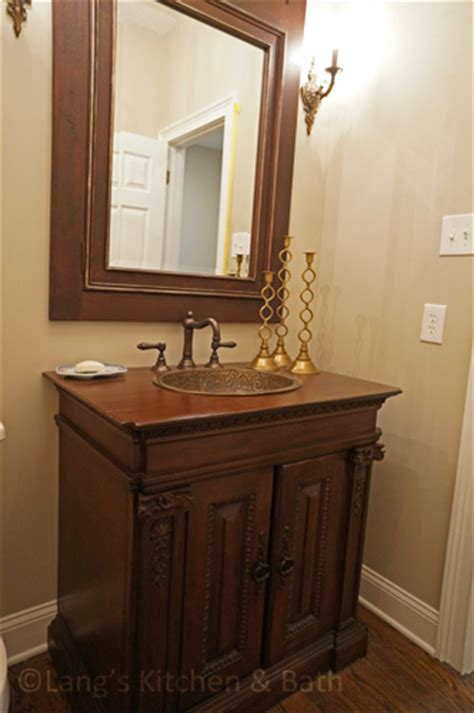small cabinet for powder room a glamorous powder room kitchen bathroom design and