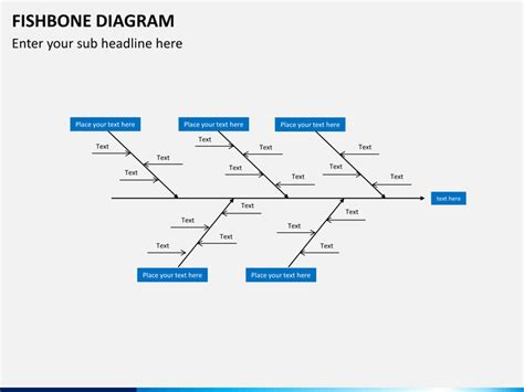 Fishbone Diagram Powerpoint Template Sketchbubble Ishikawa Diagram Ppt