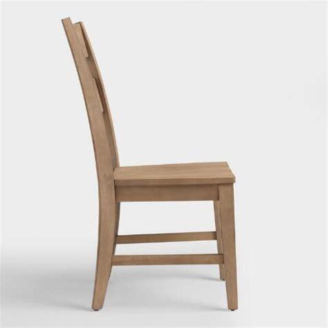 distressed wood harrow dining chairs set of 2 world market