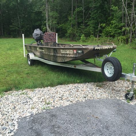 pro drive boat prop 18ft prodrive duck flats boat the hull truth boating