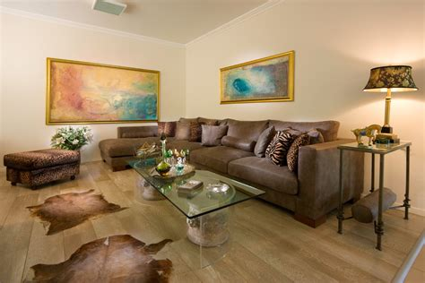 animal print rug and pillows living room family room beauty elegant living room with brown furniture and rug