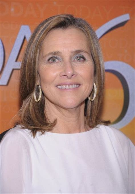 hair color techniques used on merideth vieira s hair meredith vieira s hairstyle