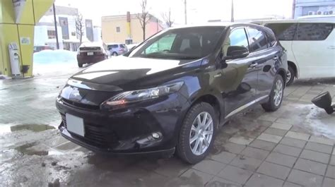 lexus harrier 2014 walkaround 2014 toyota harrier hybrid is a disguised