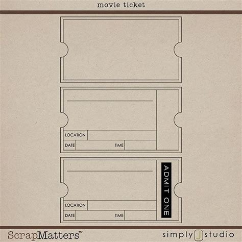 free printable vintage ticket template invitation template oscar party ideas pinterest beds