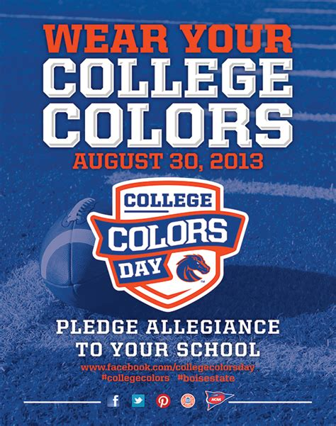 boise state colors your vote can help boise state win spirit competition update