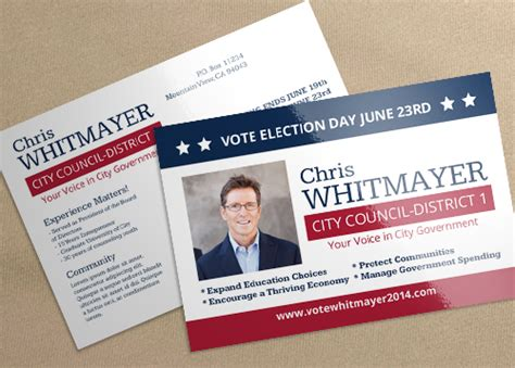 Postcard Minimal Bar Id 5547 Printplace Election Postcard Template
