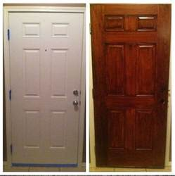 How To Stain An Interior Door The World S Catalog Of Ideas