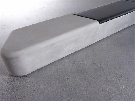concrete rudolph panchina modulare in grc arpa concrete rudolph