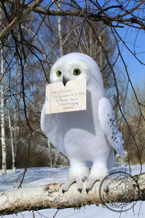 Snowy Owl Hedwig Papercraft By X0xchelseax0x On - hey i found this really awesome etsy listing at https