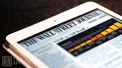 The Wall Street Journal finally comes to Newsstand   iMore