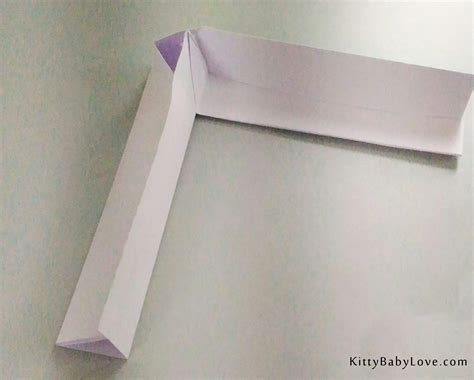 How To Make Boomerang With Paper Step By Step - origami tutorial how to make a paper boomerang
