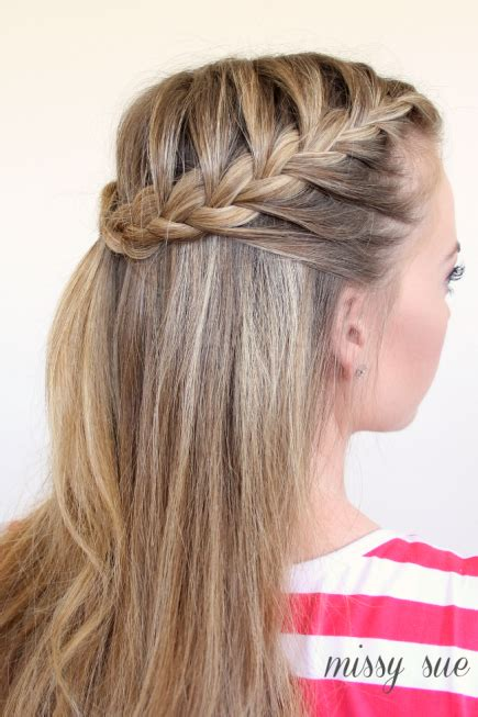 how to 1940s style women french braids 16 stylish french braid hairstyle tutorials beesdiy com