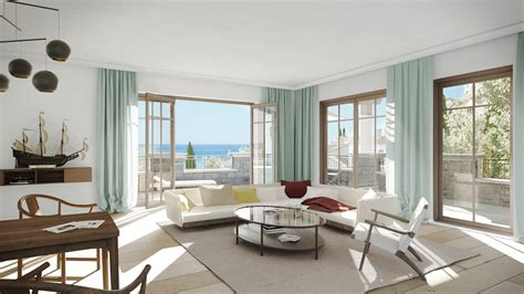 Seaside Interiors by Seaside Lustica Bay Illustrations Xoio
