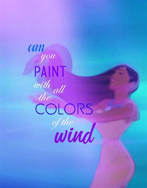 paint with all the colors of the wind lyrics 17 best images about never or for disney