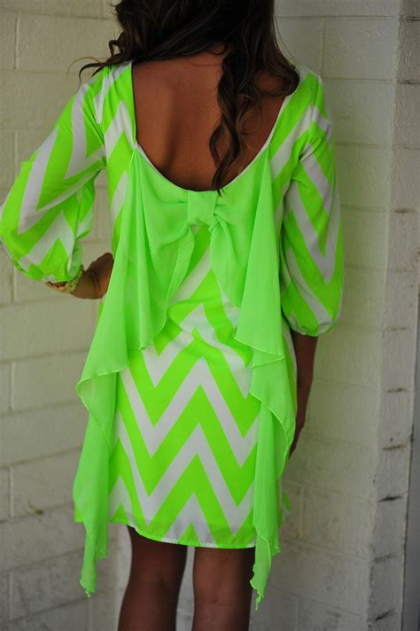 Bj 8586 Green Fresh Dress cheveryone s favorite dress neon green s on wanelo