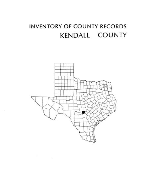 Kendall County Court Search Inventory Of County Records Kendall County Courthouse Boerne The Portal To