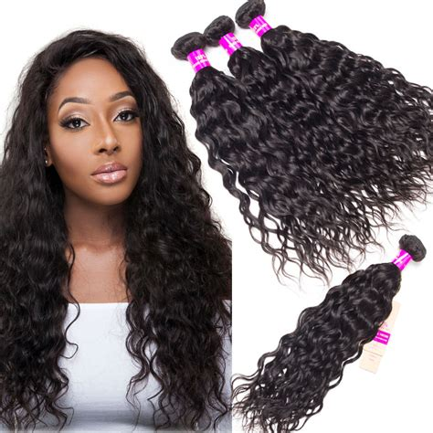 and wavy human hair brazilian wet and wavy human hair weave 4 bundles