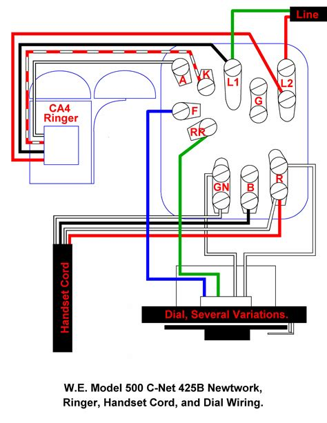 western electric 102 wiring diagram western electric wiring diagram wikishare