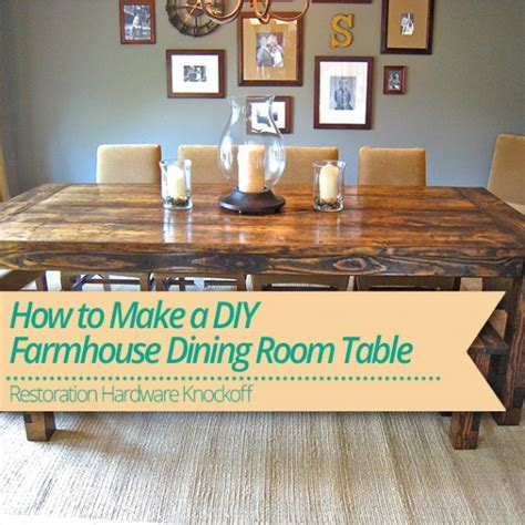 how to make a dining bench how to make a diy farmhouse dining room table restoration