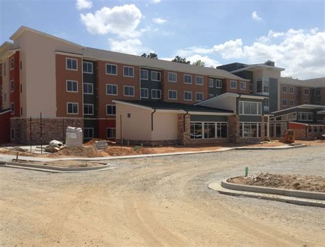 Post Office Augusta Sc by New Construction Hotel Landscaping In Augusta Ga